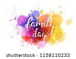 handwritten modern calligraphy... | Shutterstock .eps vector #1158110233