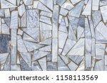tile wall fragment | Shutterstock . vector #1158113569