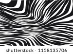 curve random chaotic lines... | Shutterstock .eps vector #1158135706