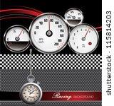 racing background   Shutterstock .eps vector #115814203