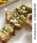delicious homemade gluten free... | Shutterstock . vector #1158148030
