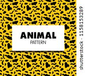 animal pattern collection | Shutterstock .eps vector #1158153289