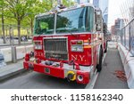 new york  usa   may 11  2018 ...   Shutterstock . vector #1158162340