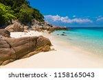 beautiful stretch of a fine... | Shutterstock . vector #1158165043