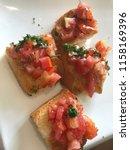 delicious homemade gluten free... | Shutterstock . vector #1158169396