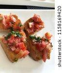 delicious homemade gluten free... | Shutterstock . vector #1158169420