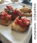delicious homemade gluten free... | Shutterstock . vector #1158169423