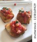 delicious homemade gluten free... | Shutterstock . vector #1158169429