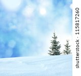 winter background   Shutterstock . vector #115817260