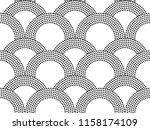 vector seamless abstract...   Shutterstock .eps vector #1158174109