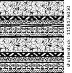 seamless geometric pattern.... | Shutterstock .eps vector #1158176050