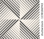 black and white abstract... | Shutterstock .eps vector #1158186943