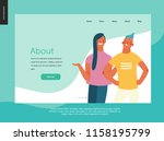 bright people   website... | Shutterstock .eps vector #1158195799