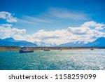 puerto natales   magallanes y... | Shutterstock . vector #1158259099