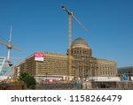 berlin  germany   august  2018  ...   Shutterstock . vector #1158266479