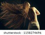 beauty salon and fashion....   Shutterstock . vector #1158274696
