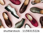 stylish female spring or autumn ...   Shutterstock . vector #1158315226