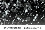 new year vector background with ... | Shutterstock .eps vector #1158326746