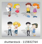 illustration of various... | Shutterstock . vector #115832764