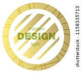 minimalistic design  creative... | Shutterstock .eps vector #1158335713