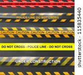 set of different urgent info... | Shutterstock .eps vector #115835440