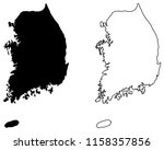 simple  only sharp corners  map ... | Shutterstock .eps vector #1158357856