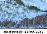 when the sea storms   Shutterstock . vector #1158371053