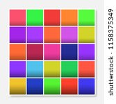 colorful squares background... | Shutterstock .eps vector #1158375349