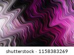dark pink vector pattern with... | Shutterstock .eps vector #1158383269
