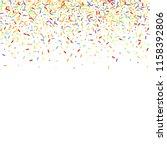 sprinkles grainy. sweet... | Shutterstock .eps vector #1158392806
