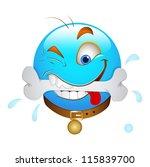 smiley emoticons face vector  ... | Shutterstock .eps vector #115839700