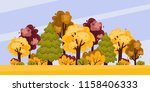 vector illustration of forest... | Shutterstock .eps vector #1158406333