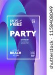 night party banner template for ...   Shutterstock .eps vector #1158408049