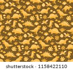 seamless pattern for your... | Shutterstock .eps vector #1158422110