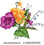 vector drawing of a small... | Shutterstock .eps vector #1158439333