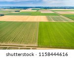 aerial photography of dutch... | Shutterstock . vector #1158444616