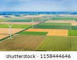 aerial photography of dutch... | Shutterstock . vector #1158444646