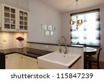 Kitchen With Farmhouse Sink An...