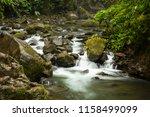 la paz river in costa rica | Shutterstock . vector #1158499099