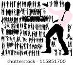 business people   Shutterstock .eps vector #115851700