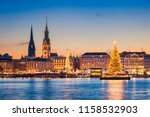 Skyline Of Hamburg  Germany...