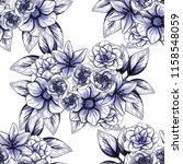 abstract elegance seamless... | Shutterstock . vector #1158548059