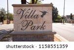 villa park  california  usa  ... | Shutterstock . vector #1158551359
