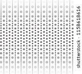 circle halftone dots vector...   Shutterstock .eps vector #1158618616