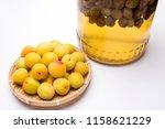 Yellow Japanese Apricot Fruit...
