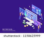 isometric illustration of... | Shutterstock .eps vector #1158625999