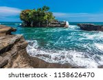 tanah lot temple | Shutterstock . vector #1158626470