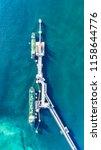 oil tanker  gas tanker in the... | Shutterstock . vector #1158644776