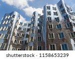 dusseldorf  germany  july 2017  ... | Shutterstock . vector #1158653239