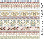 mayan american indian pattern... | Shutterstock .eps vector #1158658579